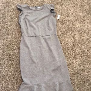 Old Navy Fitted Flare Dress